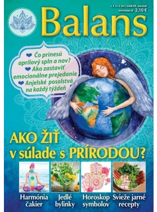 Balans – mesačník pre rovnováhu tela & duše PREDPLATNÉ na 12 ČÍSEL