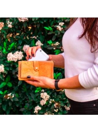 Dámska korková peňaženka SLIM